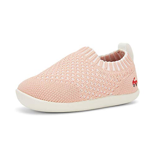 See Kai Run, Baby Knit Slip-On Shoes for Infants, Pink, 5 M US Infant