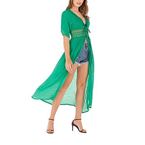 Sarongs Cover Up - Bañador para mujer, encaje
