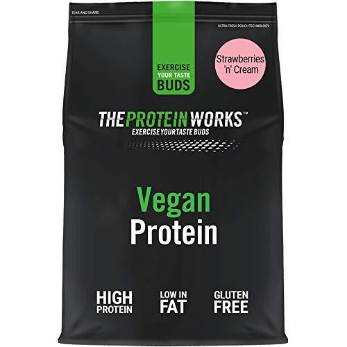 Vegan Protein Powder   100% Plant-Based & Natural   Gluten-Free   Zero...