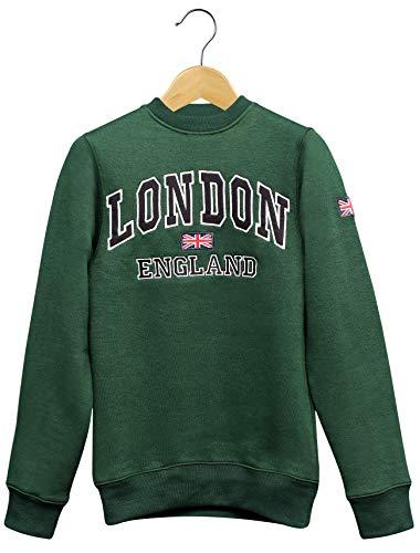 16Sixty London Souvenir - Sudaderas para hombre con...