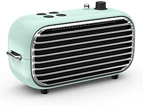 Vintage Retro Bluetooth Speaker - Small Wireless Speaker with FM Radio, Powerful Bass Enhancement, 20W HD Sound, Bluetooth 4.2, USB Charge, Classic Style Perfect for Outdoors, Travel, Home Party