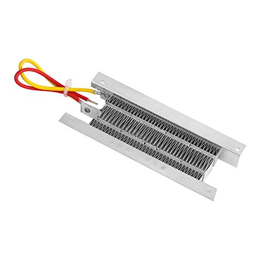 Elemento calefactor de 400W 12V, elemento calefactor de cerámica Termostato PTC Tipo aislado Elemento calefactor de aire de cerámica Aislamiento termostático Elemento calefactor PTC
