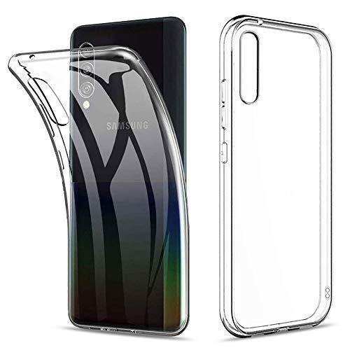 Amonke Funda para Samsung Galaxy A90 5G 2019, Silicona Transparente TPU Protectora Carcasa Antigolpes, Anti Caídas Ultrarock Ultrafina Suave Case Cover Compatible con Samsung Galaxy A90 5G (6.7')