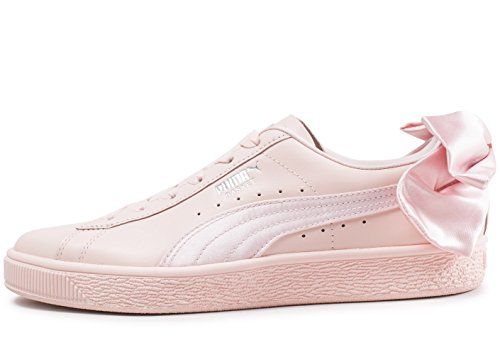 PUMA Damen Basket Bow WN's Sneaker, Pink (Pearl-Pearl), 38 EU