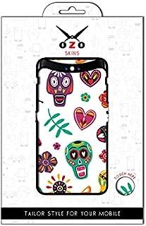 لاصقة حماية من اوزو بشكل الجماجم الميكسيكية لموبايل OPPO A54