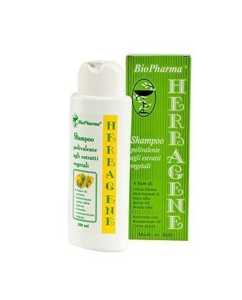 BioPharma Against Hair-Loss, Greasy Roots, Dry Hair Ends and Reduce Dandruff with Plant Extracts of Nettle and Salvia 250 ml