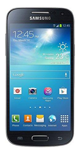 Samsung Galaxy S4 mini Smartphone (10,9 cm (4,3 Zoll) AMOLED-Touchscreen, Micro-Sim, 8GB interner Speicher, 8 Megapixel Kamera, LTE, NFC, Android 4.2) schwarz [EU-Version]