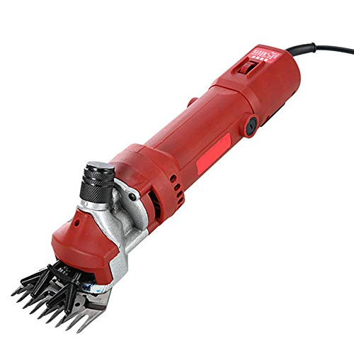 Find Discount Pet And Livestock 550W Grooming Clippers Electric Sheep Shears Six-Speed Shift Efficie...