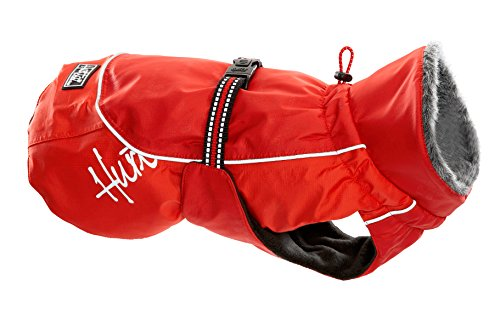 Big Sale Hurtta Pet Collection 17-Inch Winter Jacket, Red