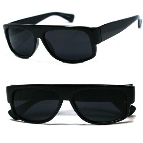 Original OG Mad Dogger Shades Sunglasses w/Super Dark Lens (Black)