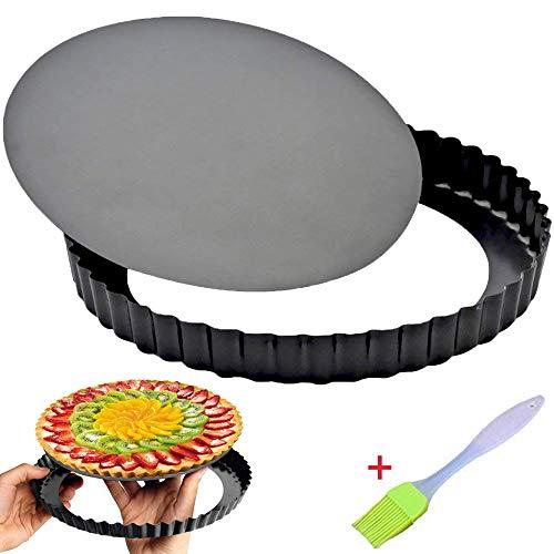 11 inch round pie pan - 2