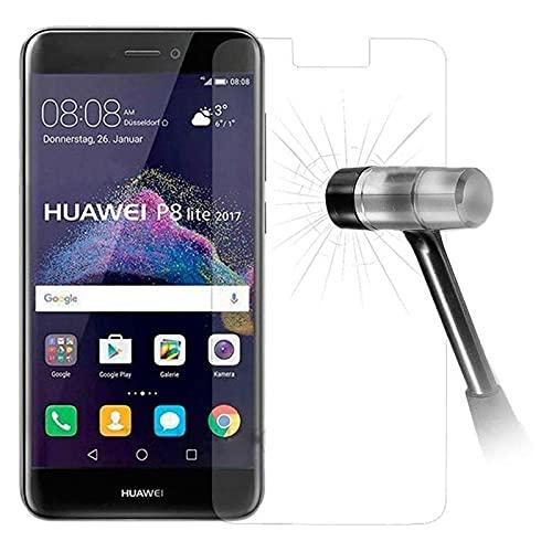 Cracksin 2 protectores de pantalla para Huawei P8 Lite (2017), cristal protector...