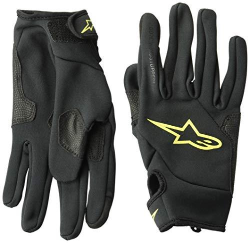 Alpinestars Cascade Gore Windstopper Glove Guantes, Hombre, Ácido Negro Amarillo, S