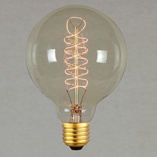 Lampadina Vintage Edison 60W - Retro Filamento Decorativo Globo Grande Spirale 95mm E27 - The Retro Boutique