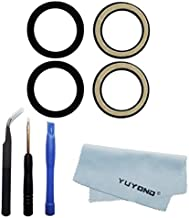 YUYOND 2pcs OEM Original Rear Camera Glass Lens Replacement for Google Pixel 3 and Pixel 3 XL with Adhesive Preinstalled with Tool Kit and Clean Cloth