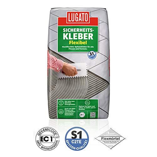 Flexkleber Fliesenkleber Lugato 20 kg keramische Fliesen hochflexibel Fliesen Baukleber wetterfest wasserfest