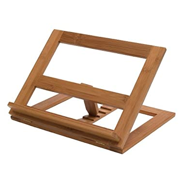 Lipper International 8825 Bamboo Wood Cookbook Holder, 13-1/4  x 11-1/2  x 8-1/2