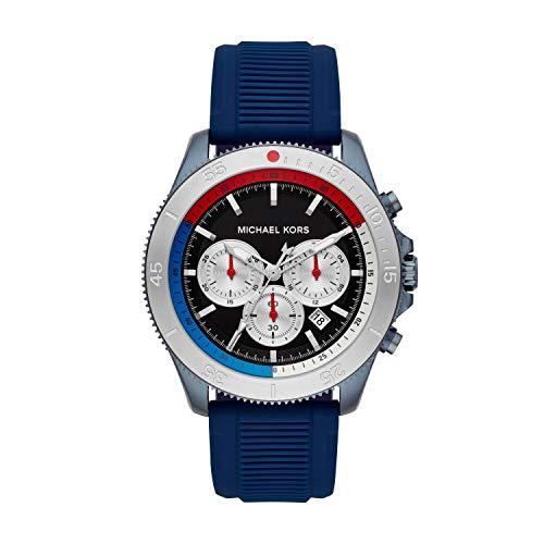 Michael Kors Reloj Cronógrafo para Hombre de Cuarzo con Correa en Acero Inoxidable MK8708