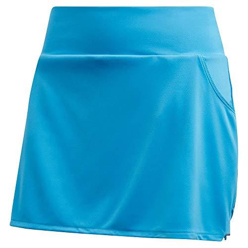 Adidas Falda de Tenis para Mujer, Falda de Tenis Club, Salpicaduras Frescas/Gris, Mediano