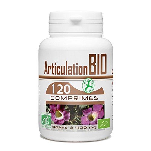 Articulation Bio 400 mg - 120 comprimés - Harpagophytum, Prêle, Reine Des Prés