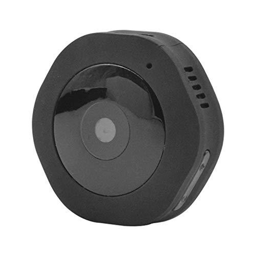 Yangeryang. HD1080P P2P-tragbare Mini-DV-Kamera Mit IR-Nachtsicht- Und Importierten High-Definition-Objektiv (Color : Black)