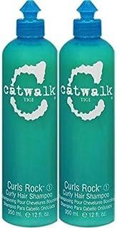TiGi Catwalk Curls Rock (1) Curly Hair Shampoo, 12.0 Fl. Oz. / 350 mL. each (2 Ct.)