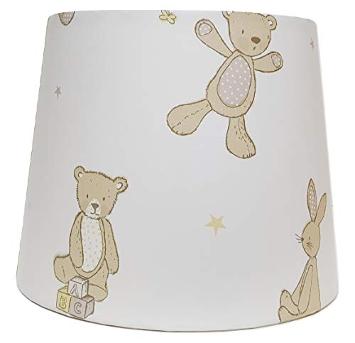 Teddy Bear Lampshade or Ceiling Light Shade Kids Nursery Bedroom Accessories Gifts Hugs (Ceiling Light Fitting)