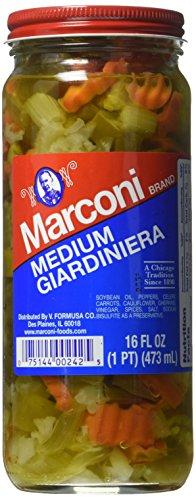 Marconi Medium Giardiniera, 16 Ounce