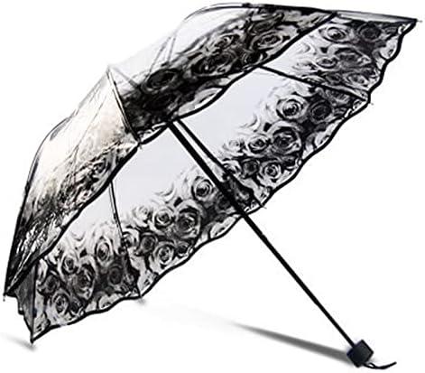 BGHYU Creative Finally popular brand Transparent Umbrella A surprise price is realized Rain Umbrell Sunny Rainy and