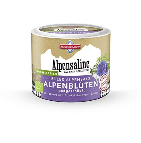 Bad Reichenhaller Alpensaline Alpensaline Edles Alpensalz Alpenblüten, 80 g, bunt