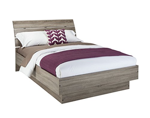 Tvilum Scottsdale Bed with with Slats, Queen, Truffle