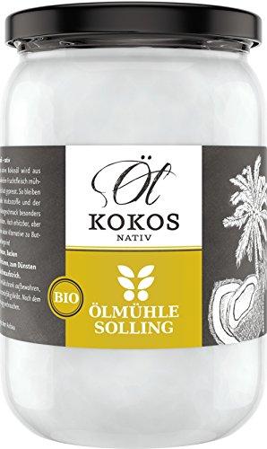 Ölmühle Solling Kokosöl nativ, Bio, 1er Pack (1 x 500 ml)