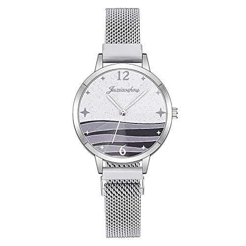 CXJC Moda Milán Reloj con aleación. Horizonte Creative Ocean Horizon Star Watch. Reloj Deportivo con una Variedad de Colores. (Color : F)