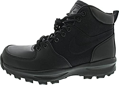 Nike Manoa, Walking Shoe Hombre, Black/Black-Black, 43 EU