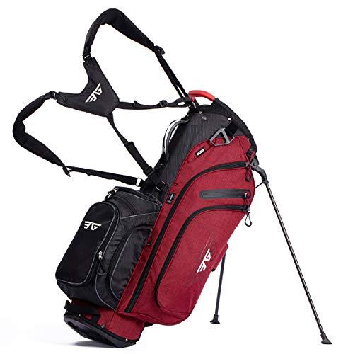 EG EAGOLE Light Golf Stand Bag 14 Way Full Length Red