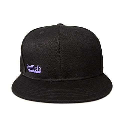 Twitch Lila Logo Cap - Schwarz