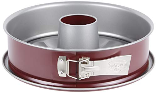 Dr. Oetker Springform Bicolor, Grau/Rot, Durchmesser 28 cm
