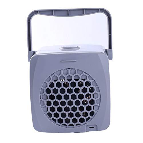 SH-RuiDu Mini USB aire acondicionado ventilador portátil pequeño purificador humidificador para el hogar sala oficina