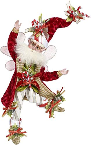 Mark Roberts Fairies 51-97150 Candy Cane Fairy Small 10 Inches