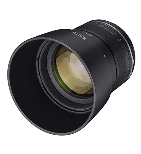 Rokinon Series II 85mm F1.4 Weather Sealed Telephoto Lens for Canon EF, Model Number: SE85-C