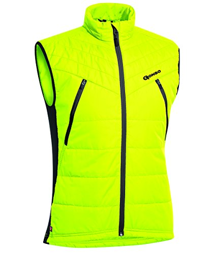 Gonso Herren Demos Thermo Weste, Safety Yellow, XL