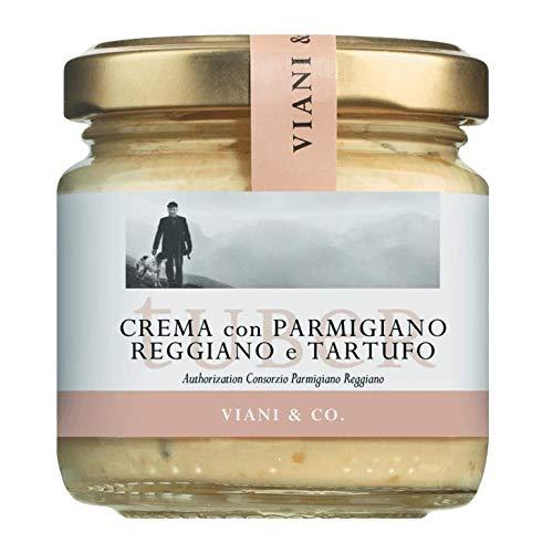 Creme mit Parmigiano Reggiano DOP - Trüffel Crema - weißen Frühlingstrüffeln 90g