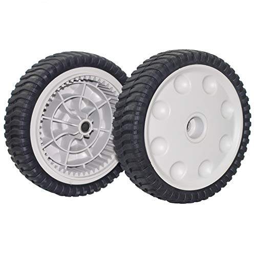 Outdoors & Spares Replaces MTD 734-04018C 734-04018A 734-04018B Set of 2 Front Drive Wheels 12AV569Q597