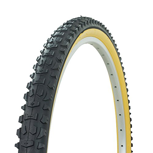 Fenix Cycles Bicycle Wanda Tire 26' X 2.10' P-103, MTB Mountain Bike, Various Sidewall Colors (Yellow)