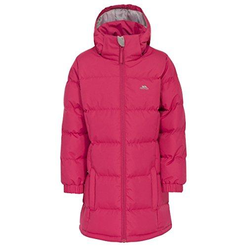 Trespass Childrens Girls Tiffy Padded Jacket 910 Years Raspberry