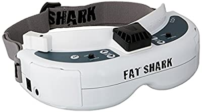 FATSHARK FAT SHARK DOMINATOR HD3 HD V3 FSV1076 Modular 3D FPV Headset GOGGLES by Fat Shark