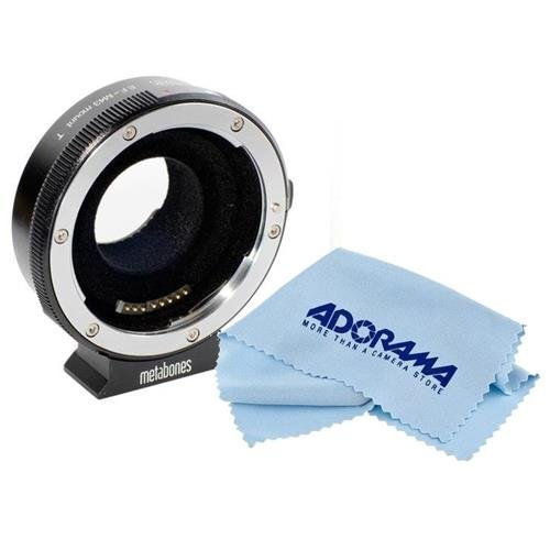 Metabones T Smart Adapter for Canon EF Lens to Micro Four Thirds Camera - with Microfiber Cloth