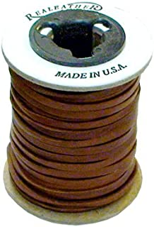 "Springfield Leather Company 3/16""x50ft Saddle Leather Deer Lace"