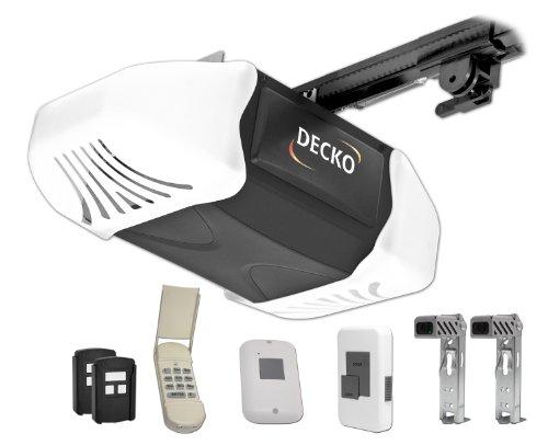 Decko 24503 3/4 Horse Power Heavy Duty Quiet Belt Drive Garage Door...