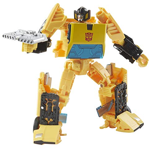 Transformers Toys Generations War for Cybertron: Earthrise Deluxe WFC-E36 Sunstreaker Action Figure - Kids Ages 8 and Up, 5.5-inch